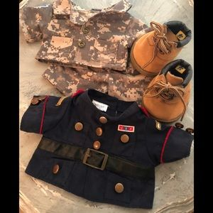Other - Build A Bear Camouflage OutFit Military Jacket
